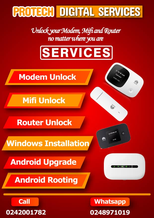 Protech Digital – Unlock Your Modem, Mifi And Router No